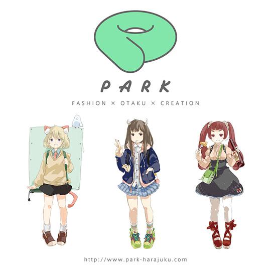 PARKのキャラクター