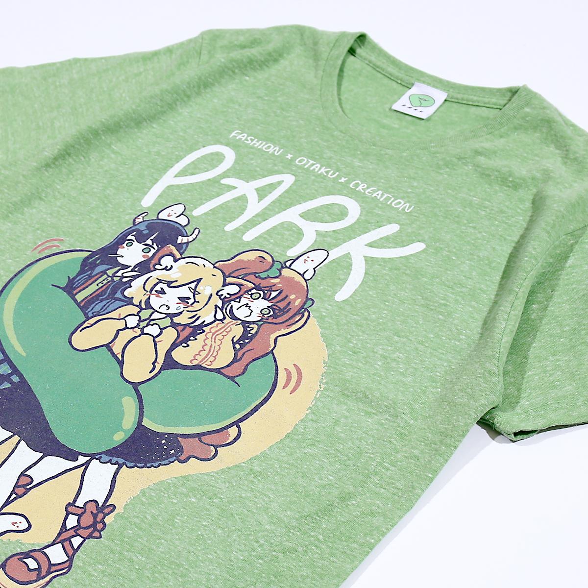 OMOCAT × PARK コラボレーションTシャツ発売中