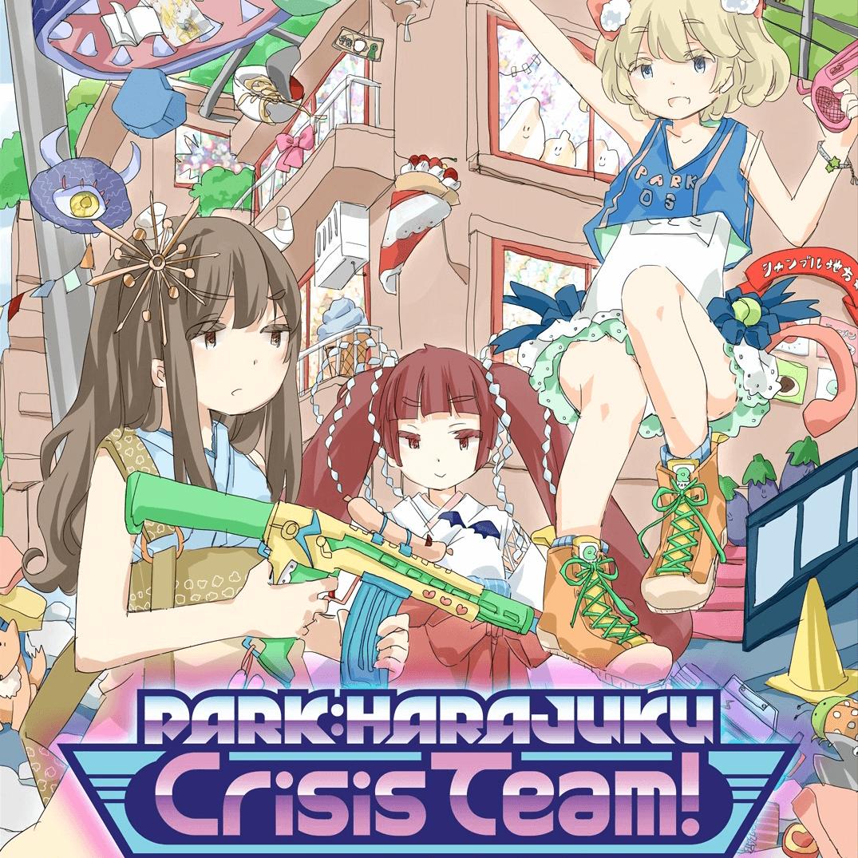 PARK:HARAJUKU Crisis Team! イラスト制作